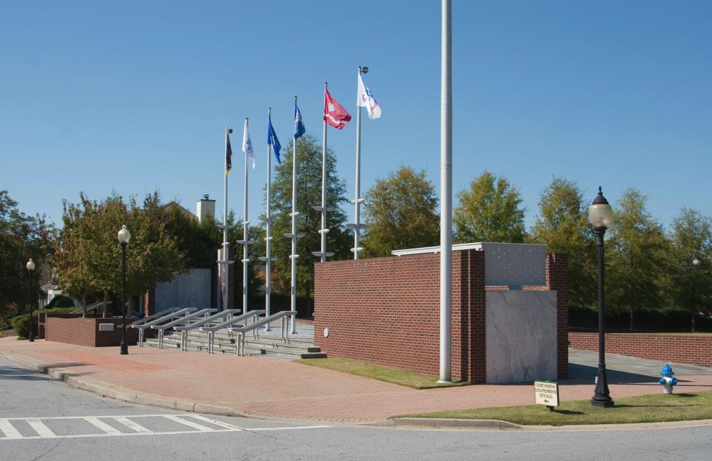 This memorial is the site of the annual Smyrna Memorial Day Ceremony.