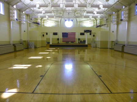 The Large Gym may be rented for corporate, social, or athletic events.